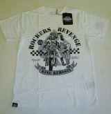 King Kerosin Regular T-Shirt offwhite / Rockers Revenge