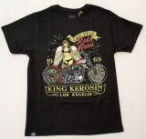 King Kerosin Regular T-Shirt / Ride Hard - Life Free 2015