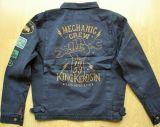 Vintage-Canvas-Jacket midnight blue - Mechanic Crew 1959