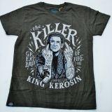 Batik Vintage Shirt - The Killer / dusty olive