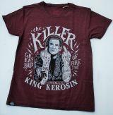 Batik Vintage Shirt - The Killer / raisin brown
