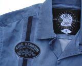 Dragstrip-Shirt Oilwash Blau - Blanko / Limited Edition