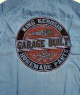 Dragstrip-Shirt Oilwash dark navy - Home Made / Limited Edition