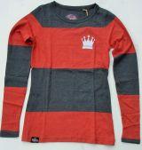 Striped - Lang Arm Shirt von Queen Kerosin - Free and Wild