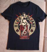 King Kerosin Regular T-Shirt / High Octane Pin Up - schwarz