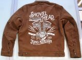 Vintage Canvas Jacke Braun - Shovel Head