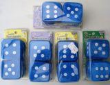 Plüschwürfel / Fuzzy Dice - Blau mit verschiedenen Düften