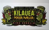 King Kerosin Sticker - Kilauea Poker / klein