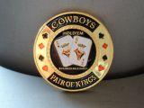 Poker Card Guard - Cowboys / pair of Kings