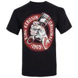 King Kerosin Regular T-Shirt / Piston Power - black