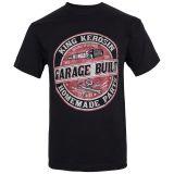 King Kerosin Regular T-Shirt / Garage Built - black