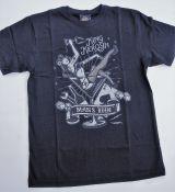 King Kerosin Regular T-Shirt / Mans Ruin - black