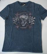 King Kerosin Regular T-Shirt / Racer Edge - Dark grey