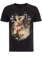 King Kerosin Regular T-Shirt / Salt Flats - Bonneville Racing