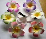 Haarclips mit Blume - kleine Blume / diverse Farben