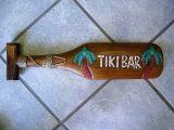 Classic Tiki Holz Paddel - Tiki Bar / klein