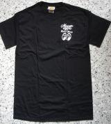 MOON EYES T-Shirt - SPEED SHOP Mooneyes / MES063BK