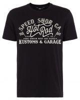King Kerosin Regular T-Shirt / Speed Shop CA - schwarz