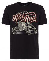 King Kerosin Regular T-Shirt / Hot Rod - schwarz