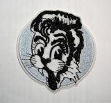 Patch - Stray Cats / silber - rund
