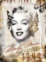 Blechschild Large - Marilyn Monroe 1949