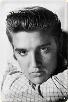 Blechschild mittel - Elvis