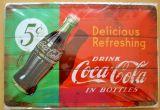 Blechschild mittel - Coca Cola Delicous Refreshing