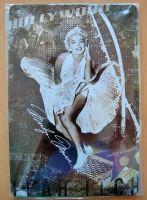 Blechschild mittel - Marilyn Monroe Subway Grate