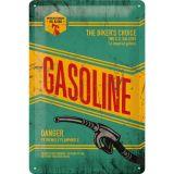 Blechschild mittel - Gasoline
