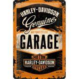 Blechschild mittel - Harley-Davidson Garage