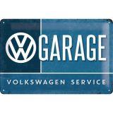 Blechschild mittel - VW Garage