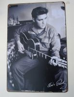 Retro Blechschild - Elvis Presley / U.S.Army