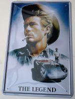 Retro Blechschild - The Legend / James Dean
