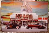 Retro Blechschild - Pep Boys
