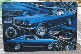 Retro Blechschild - 1965 Mustang