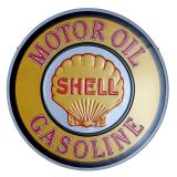 Retro Blechschild - SHELL GASOLINE