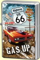 Feuerzeug - Highway 66 Red Car Gas Up