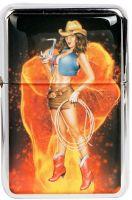 Feuerzeug - Sexy Cowgirl / Laso - Hat