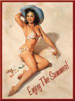Magnet - Pinup Girl: Enjoy the Summer / 14152