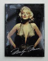 Magnet - Marilyn Monroe Gold / 14074