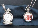 Taschen Uhr klein - Elvis 68er Special / white-red