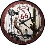 Wanduhr - Highway 66