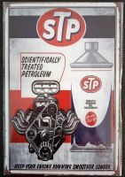 Retro Blechschild  - STP
