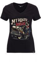 T-Shirt von Queen Kerosin - My Route, my Rules
