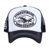 Trucker Cap von King Kerosin - Speedfreak / weiss
