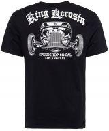 King Kerosin T-Shirt - LA Speed Shop / black
