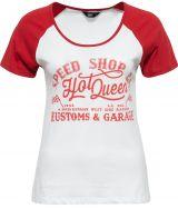 Queen Kerosin Girls Raglan T-Shirt - SPEED SHOP / HOT QUEEN