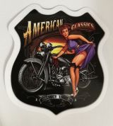 Pin up Sticker - American Classics / klein