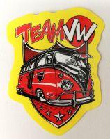 Vintage Sticker- Team VW / klein