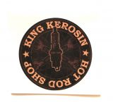 King Kerosin Sticker Hot Rod Shop /klein